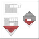 Plan sur deux étages